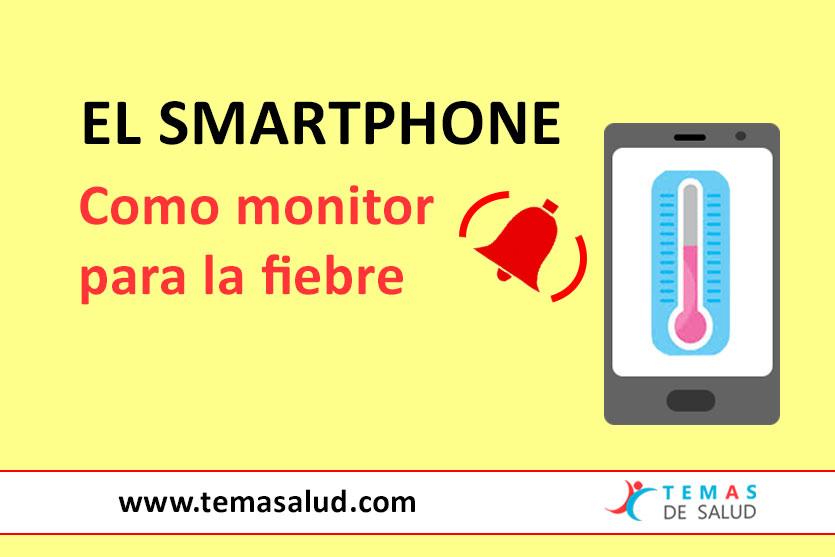 smartphone monitor de temperatura