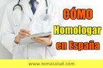 Homologar en España